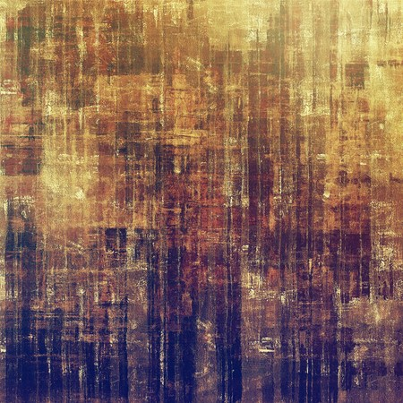 burnt edges: Grunge stained texture, distressed background with space for text or image. With different color patterns: yellow (beige); brown; gray; purple (violet) Stock Photo