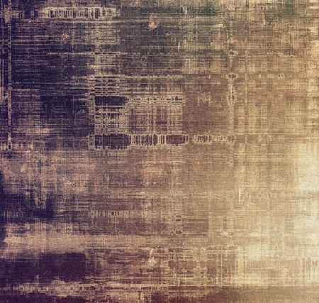 oldfield: Aging grunge texture, old illustration. With different color patterns: brown; gray; black; purple (violet)