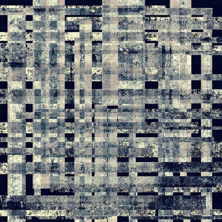intensity: Textured old pattern as background. With different color patterns: brown; gray; blue; black Stock Photo