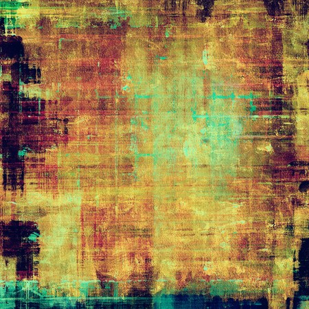 Old, grunge background texture. With different color patterns: yellow (beige); brown; purple (violet); blue photo