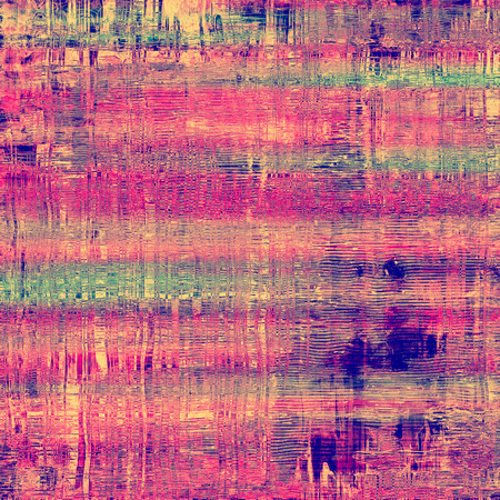 verde y morado: Old, grunge background texture. With different color patterns: green; purple (violet); blue; pink