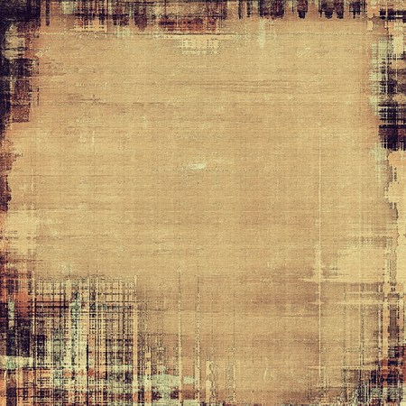 bad condition: Old and weathered grunge texture. With different color patterns: yellow (beige); brown; gray; black Stock Photo