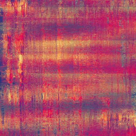violet red: Old vintage background with retro-style elements and different color patterns: yellow (beige); purple (violet); red (orange); pink