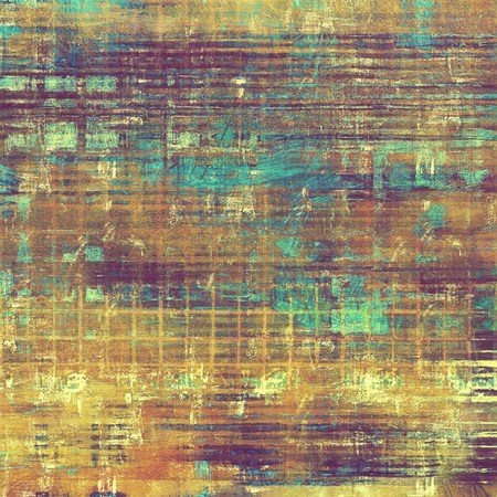 Designed grunge texture or retro background. With different color patterns: yellow (beige); brown; blue; purple (violet)