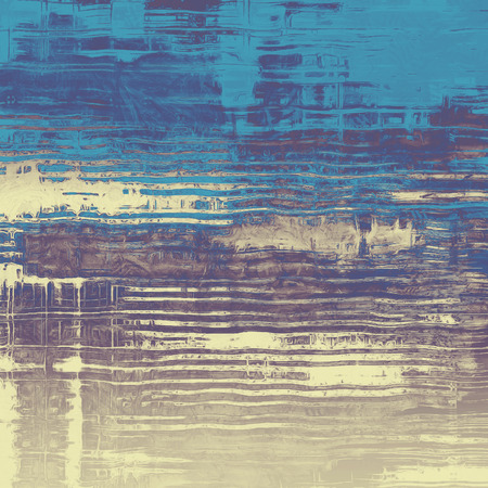 grime: Old grunge antique texture. With different color patterns: brown; gray; blue; purple (violet)