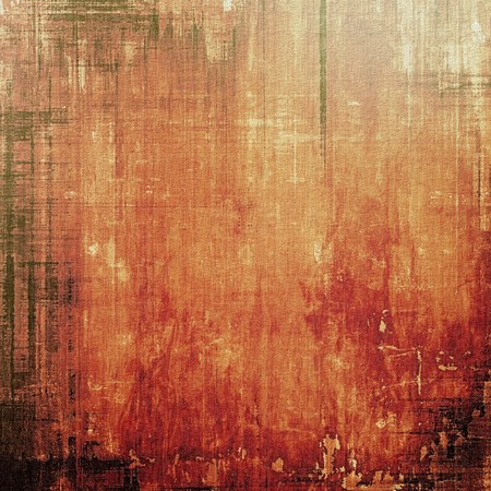 Grunge texture, distressed background. With different color patterns: yellow (beige); brown; red (orange); black Imagens