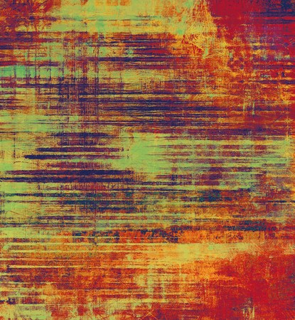 oldfield: Grunge background with space for text or image. With different color patterns: yellow (beige); cyan; red (orange); purple (violet)