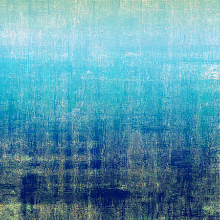 sackcloth: Old designed texture as abstract grunge background. With different color patterns: brown; gray; blue; cyan