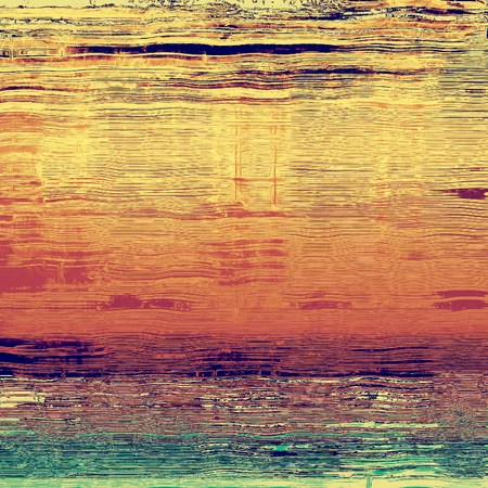 oldschool: Grunge old-school texture, background for design. With different color patterns: yellow (beige); brown; green; purple (violet) Stock Photo