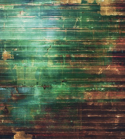 black and blue: Old texture with delicate abstract pattern as grunge background. With different color patterns: brown; black; blue; green Stock Photo