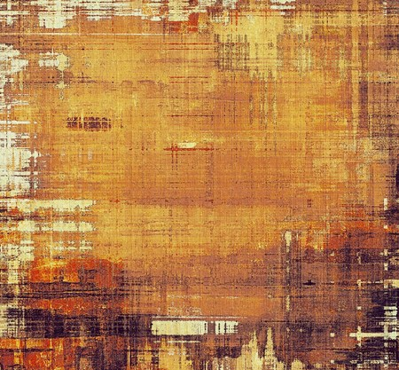 Grunge old-school texture, background for design. With different color patterns: yellow (beige); brown; gray photo