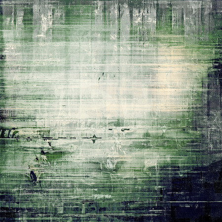 grime: Old texture with delicate abstract pattern as grunge background. With different color patterns: gray; black; blue; green Stock Photo