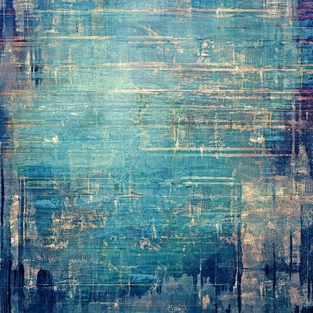 blue grunge background: Old antique texture or background. With different color patterns: brown; gray; blue; cyan