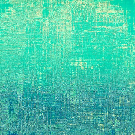 Grunge background or texture for design. With different color patterns: yellow (beige), blue, green, cyan