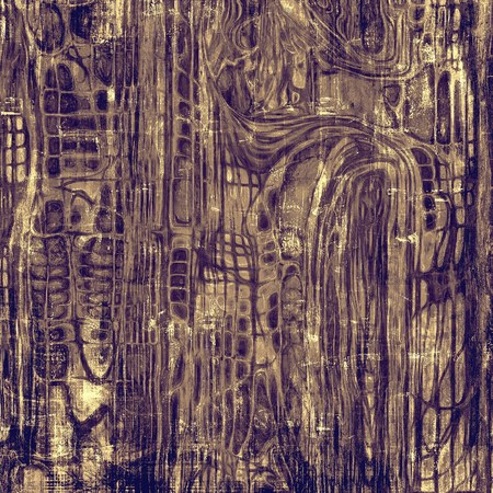 grime: Old grunge textured background. With different color patterns: yellow (beige); brown; gray; purple (violet)