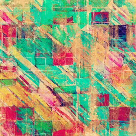 blue grunge background: Grunge texture, Vintage background. With different color patterns: yellow (beige); green; blue; pink