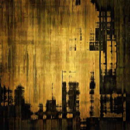 yellow black: La cosecha de fondo de arte con el espacio para el texto y patrones de colores diferentes: amarillo (beige); marr�n; gris; negro Foto de archivo