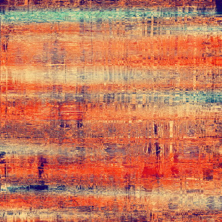 crosshatched: Abstract blank grunge background, old texture with stains and different color patterns: brown; green; purple (violet); red (orange)