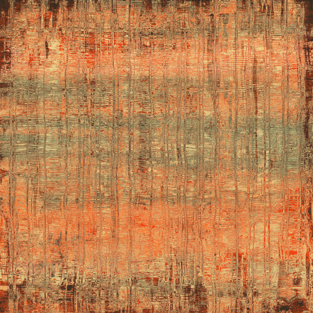 oldschool: Grunge old-school texture, background for design. With different color patterns: yellow (beige); brown; gray; red (orange)