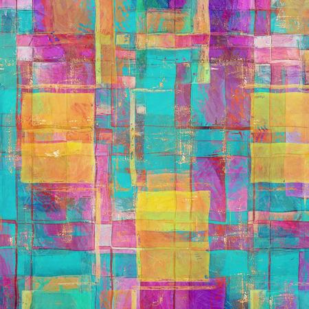 purple: Viejo fondo con textura delicada abstracto. Con diferentes patrones de color: amarillo (beige); azul; p�rpura (violeta); Rosa