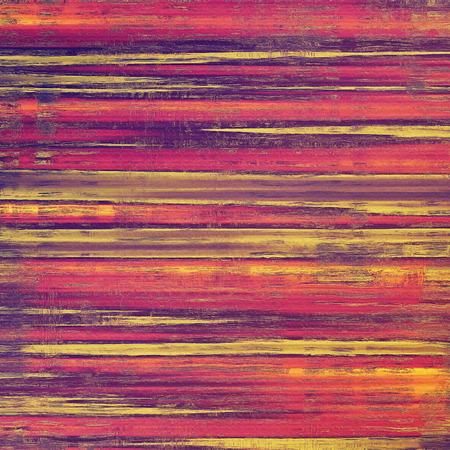 orange color: Antique vintage background. With different color patterns: yellow (beige); red (orange); purple (violet); pink
