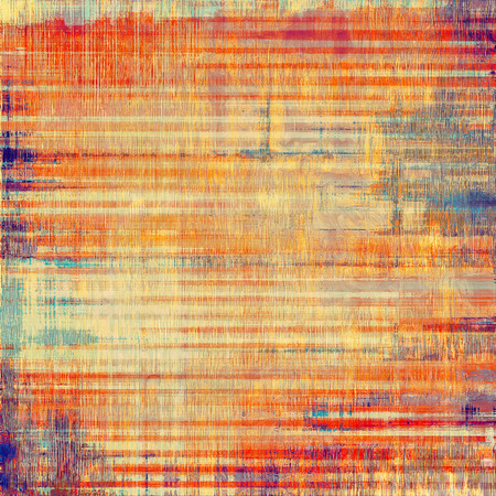 bad condition: Textured old pattern as background. With different color patterns: yellow (beige); purple (violet); blue; red (orange)