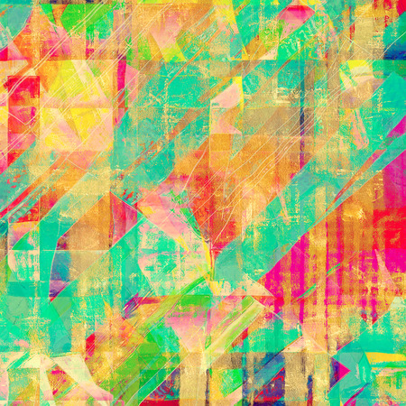 oldfield: Antique vintage background. With different color patterns: yellow (beige); red (orange); blue; green; pink