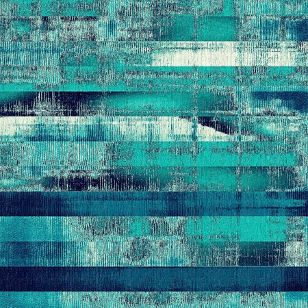 cyan: Vintage aged texture, colorful grunge background with space for text or image. With different color patterns: gray; blue; cyan; green