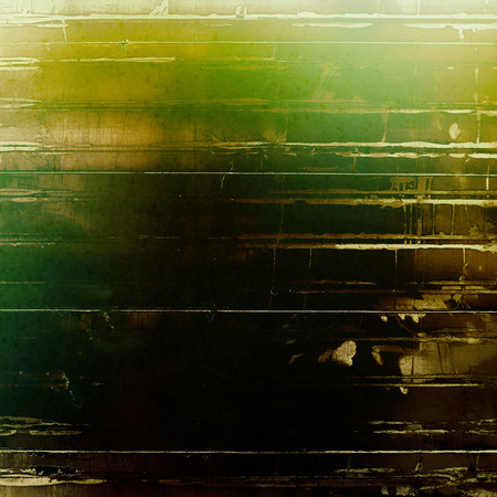 old fashioned sepia: Art grunge vintage textured background. With different color patterns: yellow (beige); brown; green; black