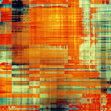 black and blue: Computer designed highly detailed vintage texture or background. With different color patterns: green; red (orange); black; blue Stock Photo