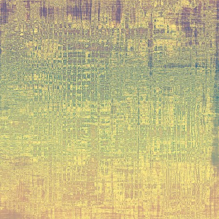 verde y morado: Background in grunge style. With different color patterns: yellow (beige); brown; green; purple (violet)