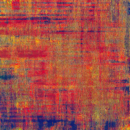 violet red: Old abstract texture with grunge stains. With different color patterns: brown; blue; purple (violet); red (orange)