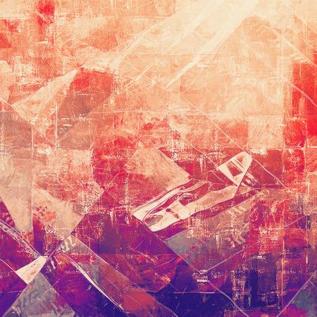 violeta: la textura de la vendimia antigua, pasada de moda fondo degradado. Con diferentes patrones de color: marrón; rosado; Violeta púrpura); naranja roja)