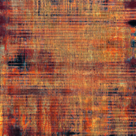 violet red: Abstract composition on textured, vintage background with grunge stains. With different color patterns: brown; blue; purple (violet); red (orange)