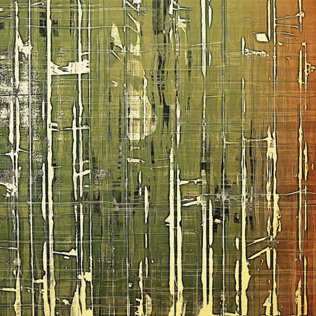 mottled: Old texture - perfect background with space for your text or image. With different color patterns: yellow (beige); brown; gray; green