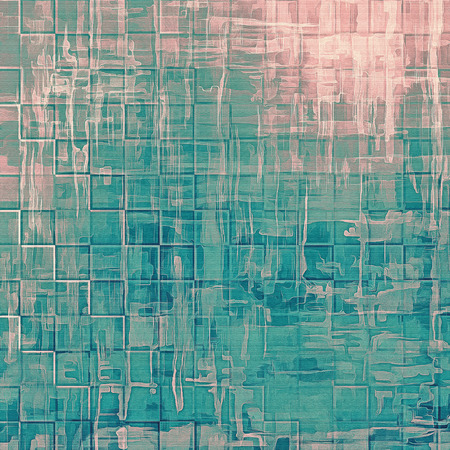 burnt edges: Abstract grunge textured background. With different color patterns: brown; blue; cyan; pink