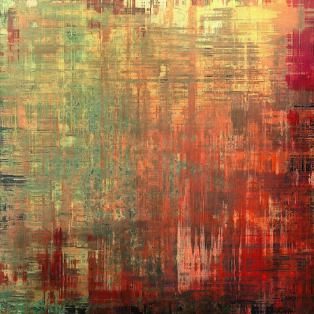 burnt edges: Grunge texture, may be used as retro-style background. With different color patterns: yellow (beige); brown; green; red (orange)