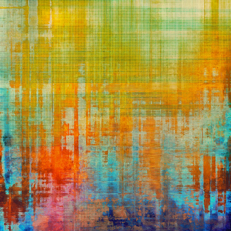 grime: Retro texture. With different color patterns: yellow (beige); red (orange); green; blue