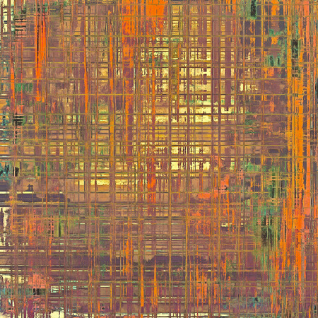 oldfield: Grunge stained texture, distressed background with space for text or image. With different color patterns: brown; red (orange); green; purple (violet)