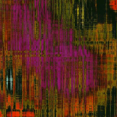 green purple: Antique vintage textured background. With different color patterns: brown; red (orange); green; purple (violet); black