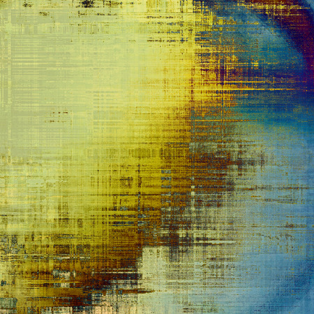 old fashioned sepia: Old grunge textured background. With different color patterns: yellow (beige); brown; blue; cyan