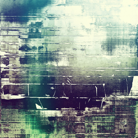 cyan: Abstract old background or faded grunge texture. With different color patterns: green; purple (violet); blue; cyan