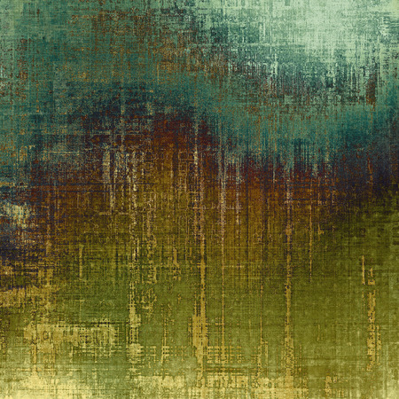 be green: Old ancient texture, may be used as abstract grunge background. With different color patterns: yellow (beige); brown; blue; green