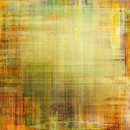 background designs: Colorful designed grunge background. With different color patterns: yellow (beige); brown; green; red (orange)