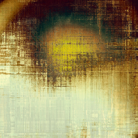 oldfield: Grunge colorful background or old texture for creative design work. With different color patterns: yellow (beige); brown; black; green