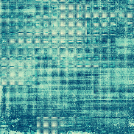 oldfield: Old designed texture as abstract grunge background. With different color patterns: gray; blue; cyan Stock Photo