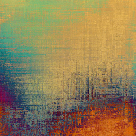 blue grunge background: Designed grunge texture or background. With different color patterns: yellow (beige); red (orange); blue; purple (violet) Stock Photo