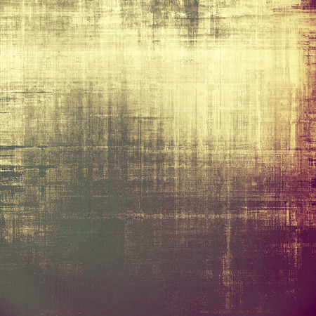 corrosion: Designed background in grunge style. With different color patterns: yellow (beige); brown; gray; purple (violet) Stock Photo