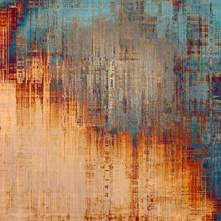 colorful grunge: Abstract rough grunge background, colorful texture. With different color patterns: yellow (beige); blue; gray; red (orange)