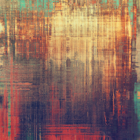 colorful grunge: Vintage aged texture, colorful grunge background with space for text or image. With different color patterns: yellow (beige); brown; purple (violet); blue; red (orange)